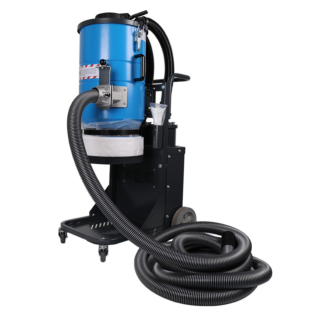 Dry Concrete Dust Industrial Vacuum Cleaner With HEPA