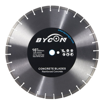 Premium Laser Welded Concrete Diamond Blade For Reinforced Concrete