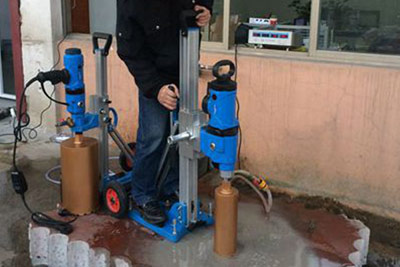 3300W Core Drill Machine DBC-33 Start Testing